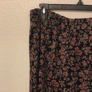 Tobi Floral Maxi Skirt